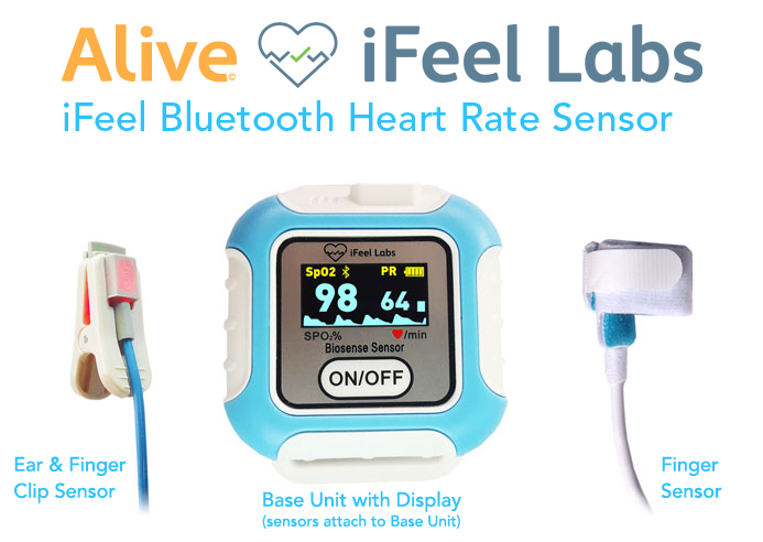 Alive with iFeel Bluetooth Heart Rate Sensor